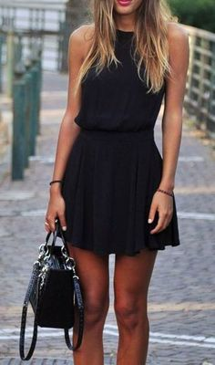Steal The Fashion: Simple Black