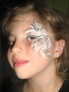 Раскраска зайчика на лице