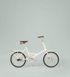 white bike