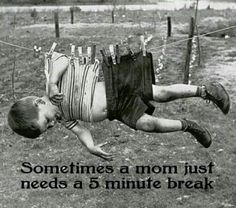 Oh, this is bad, but oh so funny! This will be what I picture to make me giggle & calm down when my boy is being crazy.