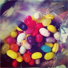 Jelly bean candy from Candilicious!