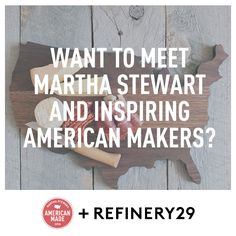 Refinery29 is giving away a trip to the American Made summit!  Enter for your chance to win!