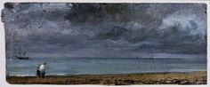 Brighton Beach, John Constable, 1824