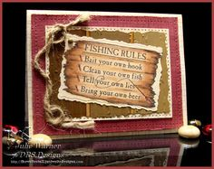 Fishing Rules TLC426 by justwritedesigns - Cards and Paper Crafts at Splitcoaststampers