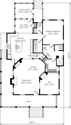 House plans on pinterest for Southernlivinghouseplans com