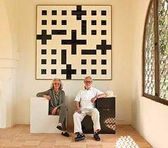 Fundación Jakober  Al frente de la mallorquina Fundación Jakober, este matrimonio de artistas es un tándem perfecto.