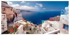 Greece looks so beautiful.