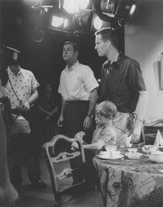 Filming an episode of The Twilight Zone