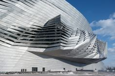 Dalian International Conference Center, China by Coop Himmelb(l)au