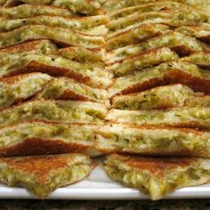 Hatch Chile Grilled Cheese Sandwich -- much more than the sum of its parts! | ShockinglyDelicious.com