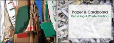 Paper and cardboard recycling and waste solutions