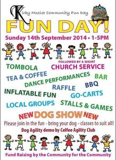 "Leicester on Twitter: ""Kirby Muxloe Village Fun Day this Sunday. Stalls, performances, go-carts, games, dog show & more http://t.co/0eTwLR3o0P"" 