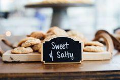 Sweet & Salty! #FearringtonWedding #FearringtonVillage | Photographed by @Krystal Kast Photography #KrystalKastPhotography