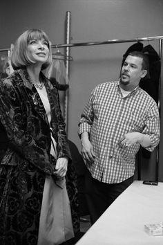 """Alexander McQueen: Working Process"" by Nick Waplington, with Anna Wintour"