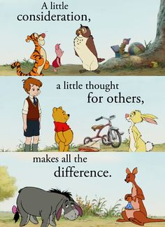#WinnieThePooh #Disney #Words #Quotes #Sayings #Phrases #Consideration
