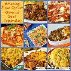 Cook up tried and true ground beef casserole recipes with the help of our collection, Slow Cooker Ground Beef Recipes: 20 Slow Cooker Ground Beef Casseroles. These are surely ground beef casserole recipes you'll love.