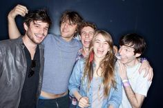 GIVERS- saw them at sxsw :) all of the band members are ridiculously attractive!
