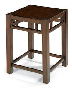 "Sonoma  Chair Side Table    Model 6625-07  24""H x 18""W x 18""D"