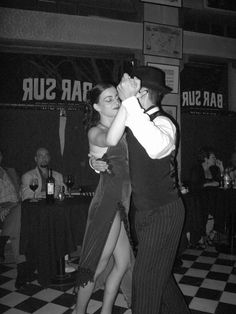 Learning the art of the Argentine Tango