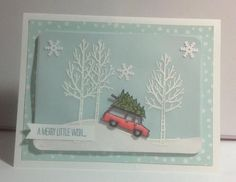 Dreaming of a White Christmas by Lynnwoll - Cards and Paper Crafts at Splitcoaststampers