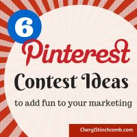 Pinterest Contest Ideas.  Maybe it's time to change your thinking.  #pinterest #contests #PromotionExamples