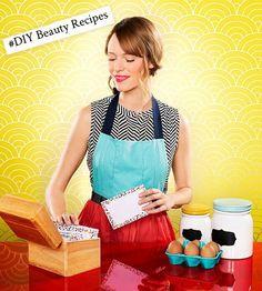 Amazingly Easy #DIY Beauty Recipes