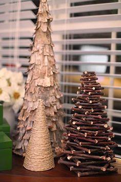 DIY rustic Christmas