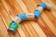 Toliet Paper Roll Caterpillar
