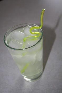 Summertime cocktail: Bacardi, Crystal Light & Diet Sprite.