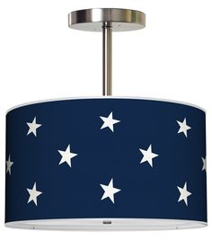 love this Stars Pendant for a nautical room!