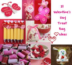 Cute Food For Kids: Valentine's Day Treat Bag Ideas