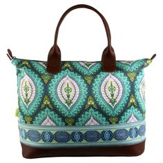 Amy Butler Marni Duffel in Imperial Paisley