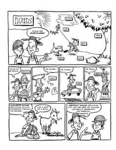 Grammar Comics!: Parts of Speech