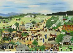 Grandma Moses (Anna Mary Robertson), Country Fair