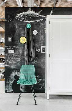 wall colors, chalkboard walls, dining chairs, chalkboard paint, buttons, hous, focus walls, blackboards, blues