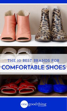 I asked my readers about their comfiest pair of shoes, and boy did they deliver! Here are the Top 10 brands for comfortable shoes, as voted by OGT readers.