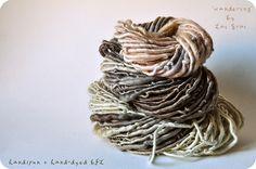 wandering- a new line of yarns! by LaiGrai, via Flickr