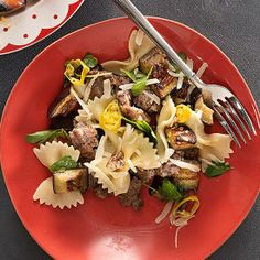 Sausage Farfalle from Rachael Ray