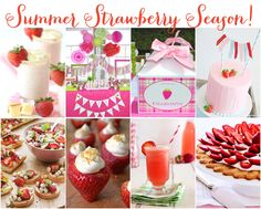 summer idea, ideas for strawberries, fun summer, strawberri recip, food, strawberri parti, treat