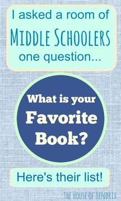 40 Tween & Middle Schoolers' All-Time Favorite Book Listhttp://www.thehouseofhendrix.com/tweens-favorite-book-list/