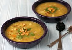 Roasted Cauliflower and Lentil Soup
