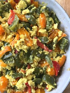 eggs with peppers