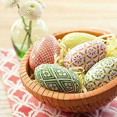 DIY Wooden Easter Eggs