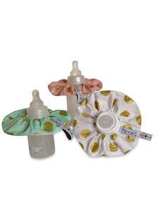 Spring 2014 Le bibble baby bottle bibs now in stock! www.lebibble.com #golddots