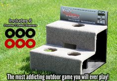 Krazy Washer Board - Washer Toss Backyard Game. I think I might order these for Labor Day weekend!
