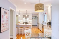 Center Hall Colonial redo first floor - traditional - kitchen - new york - Corinthian Builders