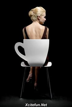 The Amazing Coffee Cup Chair