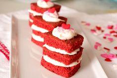 Red Velvet Cake Napoleons