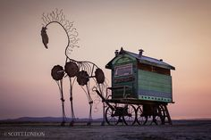 Gypsy Rose at Burning Man 2013 (Photo by Scott London)
