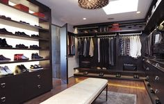 Feast on These 15 Fabulous Luxury Closets | Inthralld
